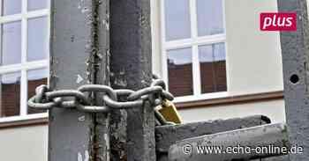 In Bensheim ist das öffentliche Leben unter Verschluss - Echo Online