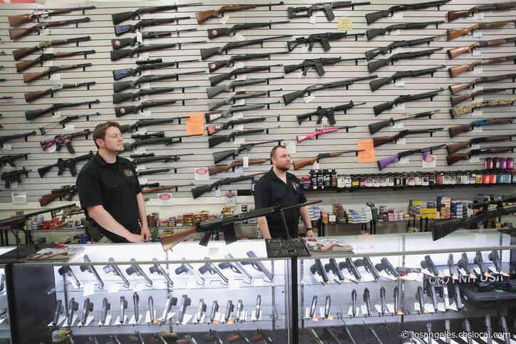 Coronavirus: LA Sheriff Suspends Efforts To Close Gun Stores