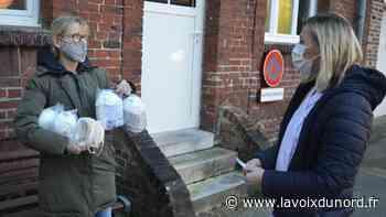 La ville d'Arques retrouve 6 000 masques dans un coin et les distribue aux soignants - La Voix du Nord