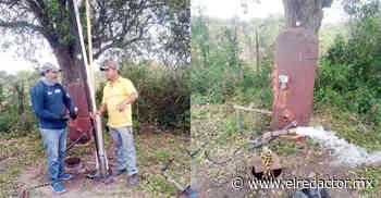 Instalan bombas de agua en Nombre de Dios y Verde Grande de Soto la Marina autorizadas por el Alcalde Abel Gámez Cantú - El Redactor de Soto la Marina