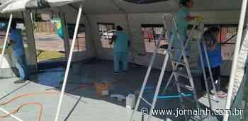 Centro de triagem é erguido no Hospital São Camilo de Esteio - Jornal NH