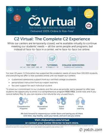 Mar 28   C2 Virtual Goes Live!   Winnetka-Glencoe, IL - Patch.com