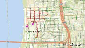 Entergy outage reported in Downtown BR