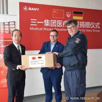 Bedburg bekommt 2.000 Atemschutzmasken geschenkt - radioerft.de