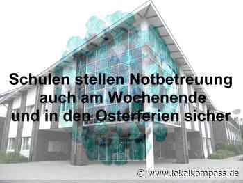 +++ Aktuelle Informationen der Gemeinde Bedburg-Hau +++ Schulen stellen Notbetreuung auch am Wochenende und in den Osterferien sicher - Bedburg-Hau - Lokalkompass.de
