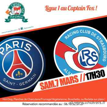 PSG – Strasbourg Captain Fox 7 mars 2020 - Unidivers