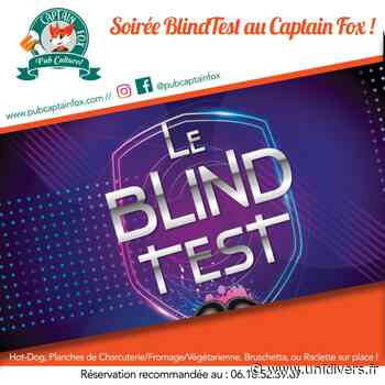 Soirée Blind Test ! Captain Fox 27 mars 2020 - Unidivers