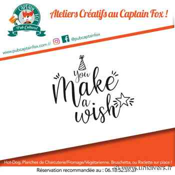 Atelier créatif Parent/Enfant Captain Fox 25 mars 2020 - Unidivers