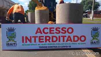 Prefeitura de Ibaiti fecha acessos terrestres e mede temperatura de pessoas que chegam na cidade - G1