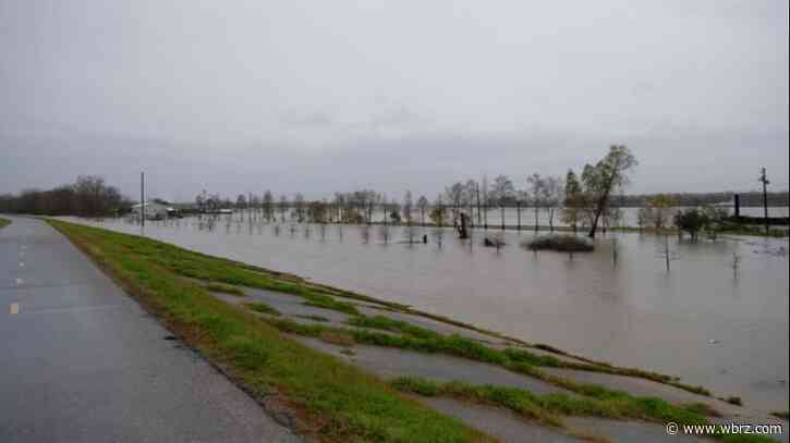 Daily levee inspections starting along Mississippi River in BR