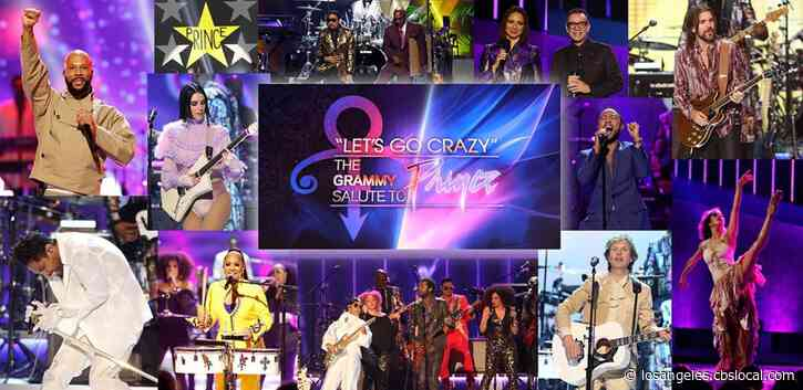 'Let's Go Crazy: The GRAMMY Salute To Prince' Coming To CBS April 21st