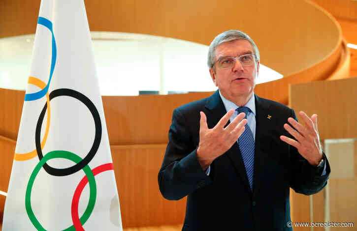 IOC's Bach: 2021 Games are like putting a jigsaw puzzle together