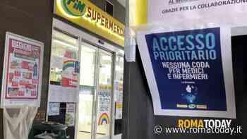 Coronavirus, nei supermercati accesso prioritario per medici e infermieri