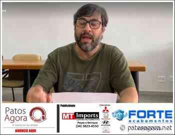 Prefeito de Carmo do Paranaíba diz que quem descumprir o Decreto poderá ser preso - Patos Agora