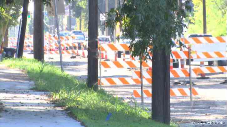Work continues on Government St. road diet project this week