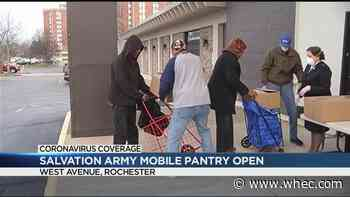 Salvation Army sets up mobile pantry