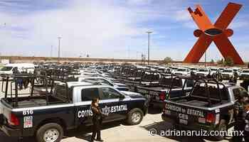 #Juarez | Entrega Estado más de 100 patrullas a la Fiscalía en Ciudad Juárez - Adriana Ruiz
