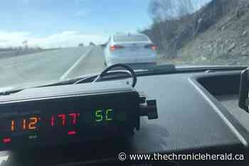 Driver clocked at 177 km/h on Highway 102 near Lower Sackville - TheChronicleHerald.ca