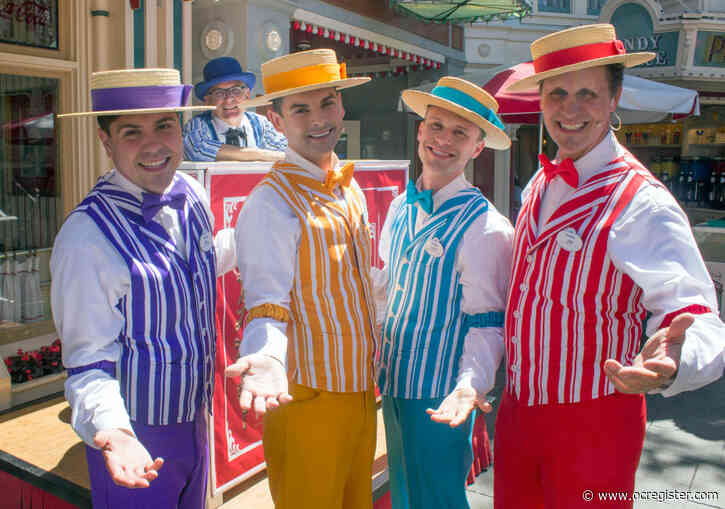 Dapper Dans sing from home and take requests during Disneyland's coronavirus closure