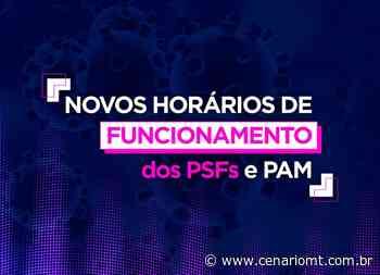 Prefeitura de Lucas do Rio Verde terá atendimento diferenciado nos PSFs e PAM a partir dessa segunda-feira (23) - CenárioMT