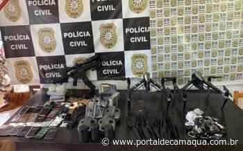Brigada Militar apreende fuzil, drogas e outros objetos no Bairro Medianeira, em Eldorado do Sul - Portal de Camaquã