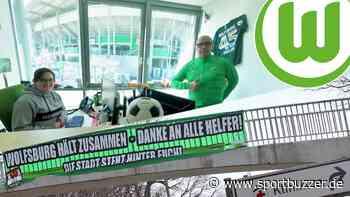 """""""Wolfsburg hilft"""": Im Fan-Haus des VfL laufen die Fäden zusammen - Sportbuzzer"""
