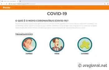 Holambra lança site com orientações para enfrentamento do Coronavírus - O Regional