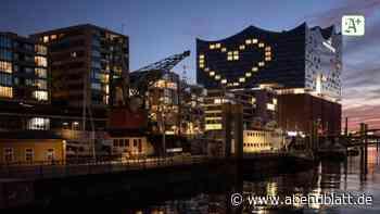 Krankheiten: Hamburger Hotel zeigt Solidarität mit Riesen-Herz