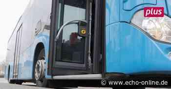 Im Bus in Lampertheim nur noch hinten einsteigen - Echo Online