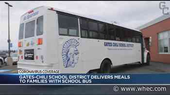 Gates Chili CSD using buses to deliver food
