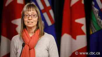 Alberta's chief medical officer of health to give latest COVID-19 update