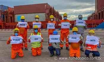 Porto do Itaqui opera para garantir suprimentos essenciais - Folha do Bico