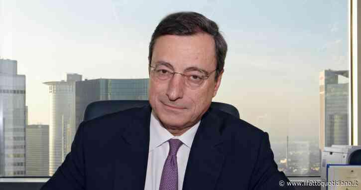 """Coronavirus, Mario Draghi: """"Agire subito. Rispondere con aumento del debito pubblico e proteggere la gente dalla perdita del lavoro"""""""