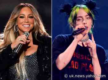 Mariah Carey and Billie Eilish among stars to perform live from their own homes for coronavirus charity concert
