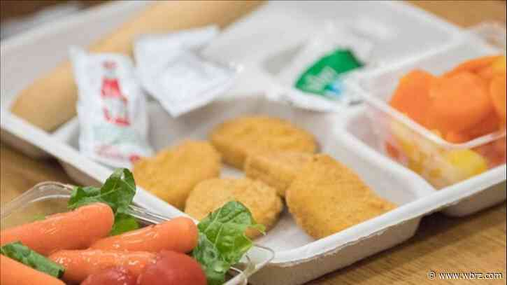 Ascension Parish schools handing out meals for students Thursday