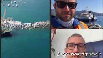 Santa Margherita Ligure, il coronavirus non ferma il cantiere di lavori in porto (VIDEO) - LaVoceDiGenova.it