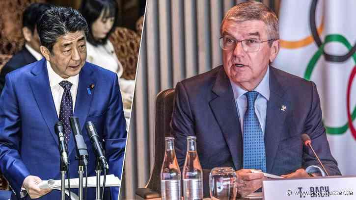 """Japan-Premier Shinzo Abe setzt IOC in Olympia-Frage unter Druck: """"Müssen über Verschiebung entscheiden"""" - Sportbuzzer"""