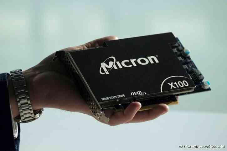 Micron sees revenue above estimates as demand rises for remote-work devices