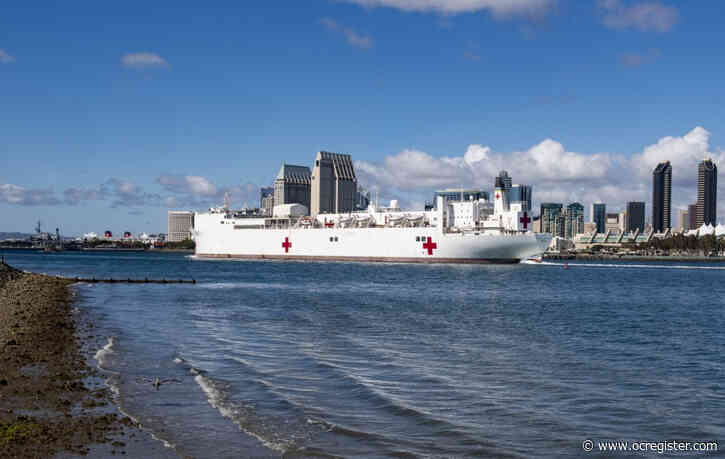 USNS Mercy expects to reach Port of Los Angeles Friday and start helping hospitals expecting coronavirus surge