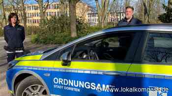 Corona Dorsten: Kontrollen durch Ordnungsdienst und Polizei / Video - Dorsten - Lokalkompass.de