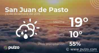 El clima para hoy en San Juan de Pasto, 24 de diciembre de 2019 - Pulzo