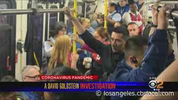 Goldstein Investigates: LAX Employees Crammed Onto Mandatory Shuttles Despite Social Distancing Orders