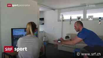 Jenny und Caviezel im Homegym – So hält sich das Schweizer Snowboard-Paar per Livestream fit - Schweizer Radio und Fernsehen (SRF)
