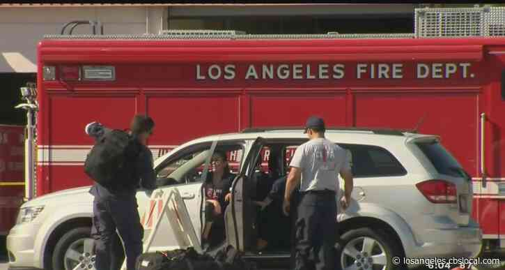 LAFD Firefighters Recovering After Positive Test For Coronavirus, Department Taking Extra Precautions