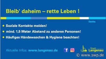 Anzeige: Rathaus Langenau trotz Coronakrise weiter erreichbar - SWP