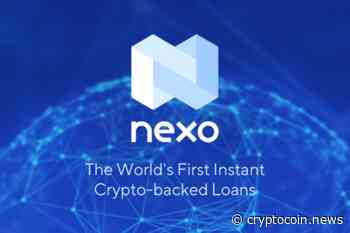 March 24, 2020: Nexo (NEXO): Up 8.07%; 2nd Straight Up Day - CryptoCoin.News