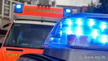 Brilon: Straßen nach Unfall auf der B 251 wieder frei - Westfalenpost