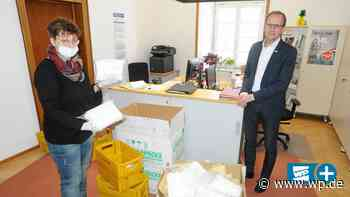 Corona: 10.000 Atemschutzmasken für Brilon aus China sind da - Westfalenpost