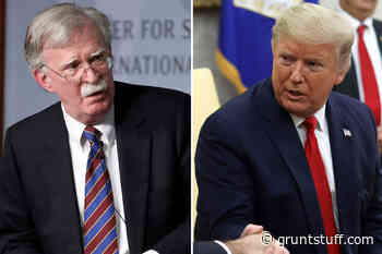Trump says Bolton 'is aware of nothing,' up to Senate if he testifies in impeachment trial - Gruntstuff