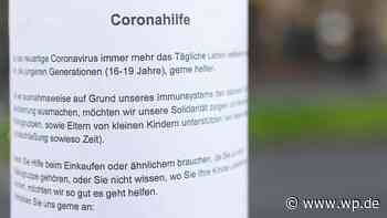 Corona: So will die Stadt Brilon alle Hilfsangebote bündeln - Westfalenpost